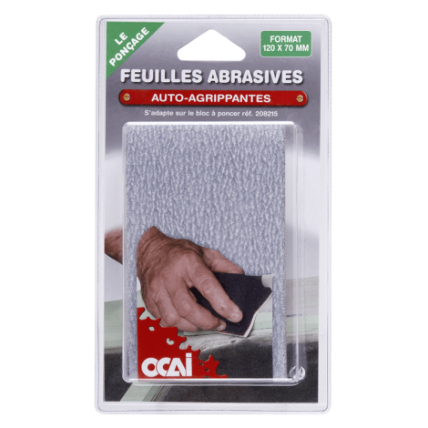 Lot de Feuilles Abrasives